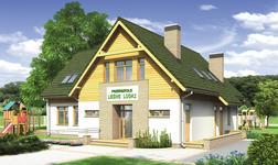 Budynek usługowy z częścią mieszkalną