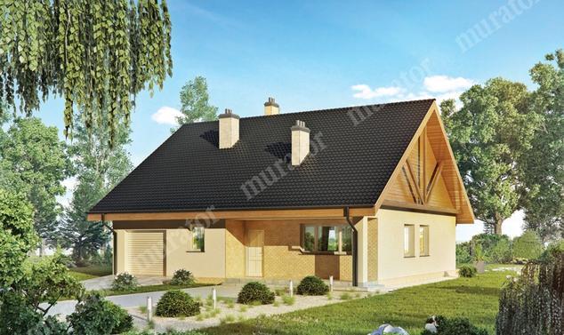Projekt domu:  Murator C319   – Aromatyczny